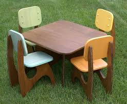kid chair and table set. modern child table set 4 chair option by jesseleedesigns on etsy, $280.00 kid and n