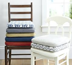 kitchen chair pads without ties round seat cushions for kitchen chairs brilliant within dining chair idea
