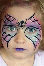 spider diy maquillage witch makeup for kids kids makeup schminkideen