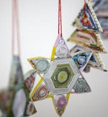 107 Best Recycled Christmas Ornaments And Decor Images On Christmas Crafts Recycled Materials