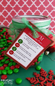 Use our 'twas the night before christmas' poem printable to make your own handmade christmas cards for kids. M M Christmas Poem And Printable Gift Tag For A Diy Mason Jar Gift