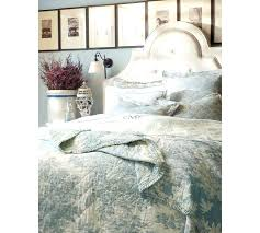 yellow blue toile bedding new images