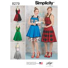 Simplicity Patterns Cool Simplicity Pattern 48 Misses' Aprons From Lori Ann Costume Designs