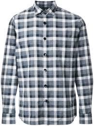 <b>Kent & Curwen</b> - рубашка в клетку - для мужчин - Хлопок - XL ...