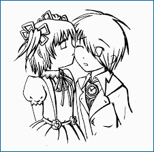 Anime Couple Coloring Pages New 56 Cute Anime Couples Coloring Pages
