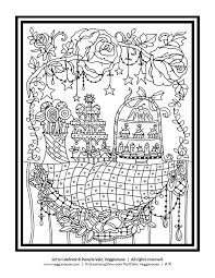 Free 92 Page Holiday Coloring Book Coloring Pages Pinterest