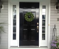 front doors with side windowsPainted Front Door With Sidelights