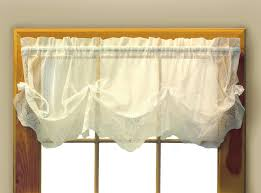 white lace valance curtains curtain collection com shower with full size