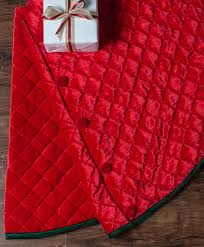 Quilted Christmas Tree Skirt Pattern Simple Design Inspiration
