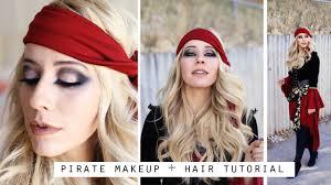 pirate makeup tutorial drastic smokey eye