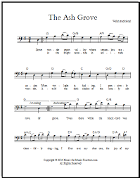Ash Grove Free Sheet Music All Instruments