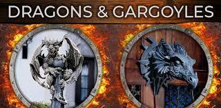 gargoyle dragon statues