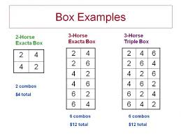 Exacta Box Chart Boxing Bets Doesnt Always Make Sense Getting Out Of The