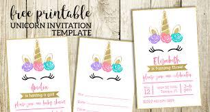 Free Birthday Invitations Free Printable Invitation Templates
