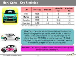 Radio Taxi Market In India A Case Study Of Delhi