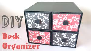 Diy Desk Organizer Diy Desk Organizer Drawers By Srushti Patil Youtube
