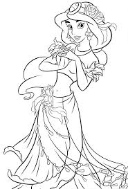 70 Best Princess Coloring Pages Images