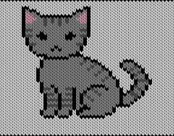 Cat Knitting Chart