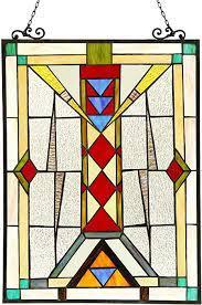 Amazon.co.jp: Chloe Lighting Warren Glass Window Panel: Home & Kitchen