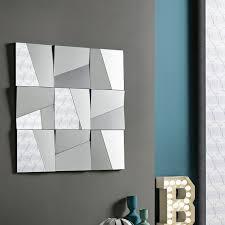 wallmounted mirror  contemporary  rectangular  square  stati