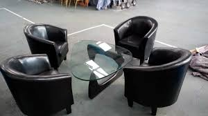 faux leather effect tub chairs faux leather effect tub chairs for