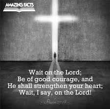 Image result for psalm 27:14