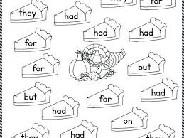 Free Sight Word Coloring Pages Grade First As Inspiring Math Fun