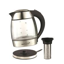 glass electric kettle reviews without plastic no