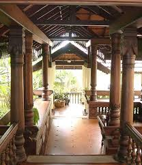 interior of houses in india. verandah located at the front of a traditional kerala house, india interior houses in e