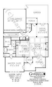 garden home plans. Plain Plans Hedgeview Garden Home House Plan 06336 1st Floor  On Garden Home Plans T