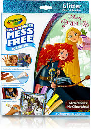 Shared on march 18 leave a comment. Amazon Com Crayola 75 2445 Color Wonder Disney Princess Glitter Coloring Pages Markers Set Art Gift For Kids Toddlers 3 Up Toys Games
