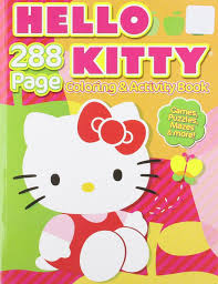 Printable free hello kitty coloring sheets for kids to enjoy the fun of coloring and learning while sitting at home. Hello Kitty Coloring Activity Sanrio 0805219017166 Amazon Com Books