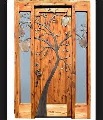 Exterior Decorative Door Frames Design