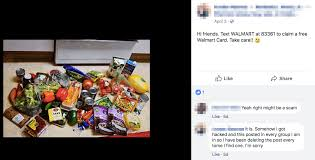 at least one person whose account posted a similar gift card scam subsequently said that the message was posted without their knowledge to every facebook