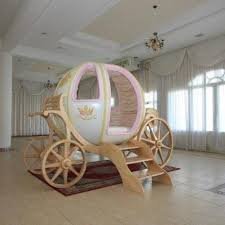 Life size Cinderella carriage bed