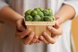 nutrition brussels sprouts in a punnet