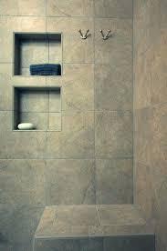 corner shower shelf tile tile shower with recessed shelves and bench corner shower shelf