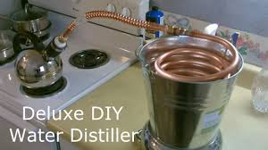 homemade water distiller the deluxe diy pure water water distiller full instructions you