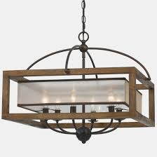 lovely rustic wood chandelier 35 dark home decorators collection