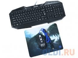 Комплект <b>Defender Reaper MKP</b>-<b>018</b> RU Black USB — купить по ...