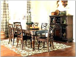 rug under kitchen table area for dining jute