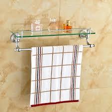 chrome polished bathroom glass shelf wall mount cosmetic holder with chrome polished bathroom glass shelf wall