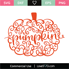 Find & download the most popular halloween vectors on freepik free for commercial use high quality images made for creative projects. Pumpkin Word Svg Cut File Lovesvg Com
