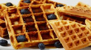 Light N Crispy Waffles Waffles Recipe Video