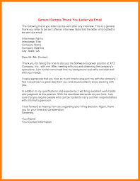 Thank You Letter After Second Interview Resume Template