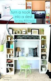 built in desk in closet. Exellent Closet Turn Closet Into Office Astonishing Use Bookshelves To A Nook Or  Built In On Built In Desk Closet