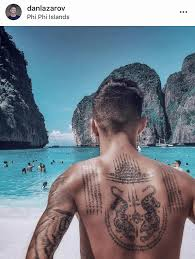 Instagram Sak Yant Tattoo Traditional Thai Tattoo Back Tattoo Bamboo