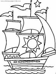Small Picture Boat coloring page Free printable coloring sheets for kids