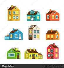 Images A Big Cartoon House Small And Big Cartoon Houses