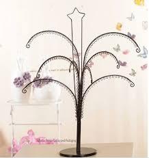 Metal Ornament Tree Display Stand Uk New Novelty Metal Earring Display Tree Bracelet Hanging Rack Earring